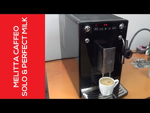 Melitta Caffeo - Solo & Perfect Milk