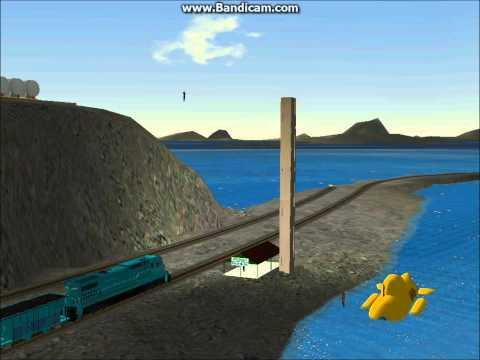 MSTS SeaView Railway C42-8I Test run