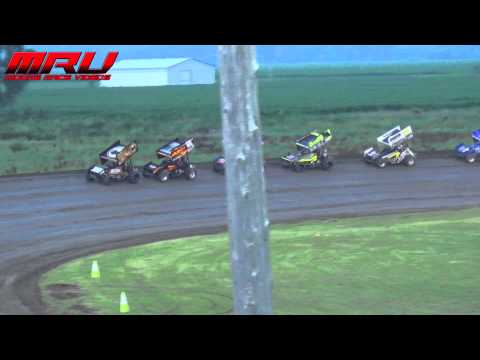 National Sprint League Dash at Park Jefferson Speedway on July 10th, 2015