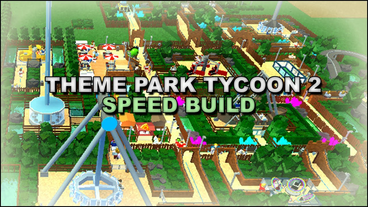 Theme Park Tycoon SPEED BUILD! | Part 1 | [New Game!]