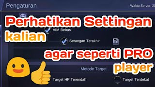 Setting game Mobile legends agar lebih mantep