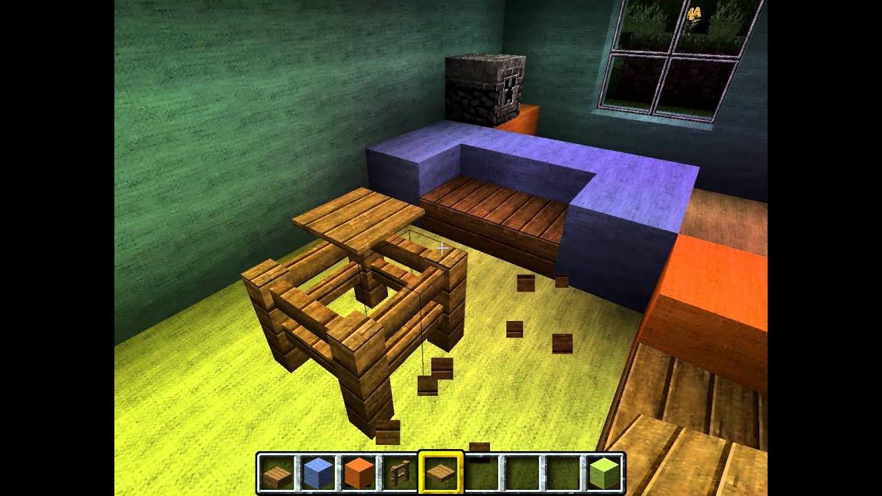 Minecraft Wohnzimmer Einrichten