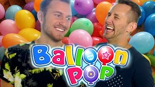 Balloon Pop Challenge! Ft: Matthias