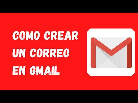 🔴 Como crear una cuenta de correo electrónico Gmail (Fácil)