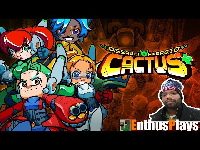 Assault Android Cactus (Switch) - EnthusPlay | GameEnthus #AssaultAndroidCactus
