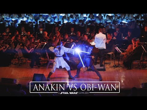 Star Wars Concert: Anakin Vs Obi-Wan