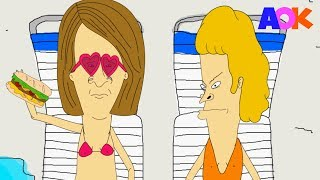 MEAVIS AND MUFFHEAD (BEAVIS AND BUTTHEAD PARODY)