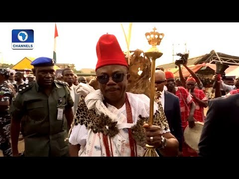 Sights And Sounds As Willie Obiano Becomes Ebube Dike Of Aguleri Kingdom |Metrofile|