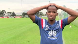 Interview with Ajax Cape Town's Cecil Lolo