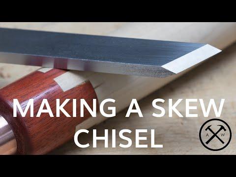 Althoff Woodshop - Making a Skew Chisel