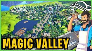 Magic Valley! Planet Coaster: Park Spotlight 208