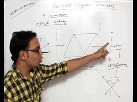 Optical activity and chirality - General Organic Chemistry part 33