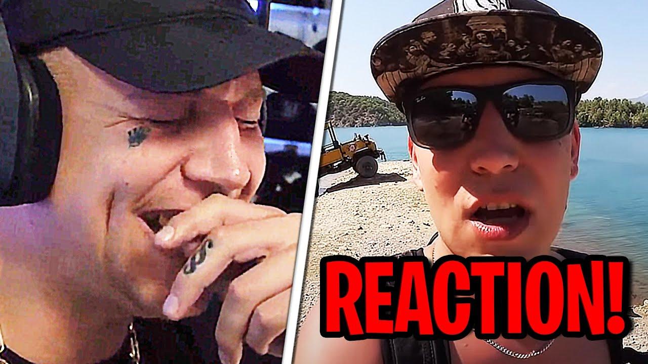 REAKTION auf MONTES TÜRKEI URLAUB!😂🌴 MontanaBlack Reaktion