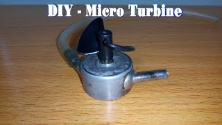 vuclip How To Make a Micro Turbine From Motor 5v