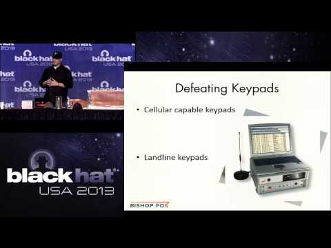 Black Hat 2013 - Let's Get Physical: Breaking Home Security Systems and Bypassing Building Controls