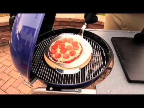 Weber Pizzasteen Gbs.Weber Gourmet Bbq System Pizzasteen Met Draagbeugel Zo Werkt Het