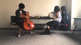 影武者[Kagemusha]2cellos cover short ver,
