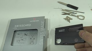 Victorinox Swisscard lite tool set. User review for car or truck owners.
