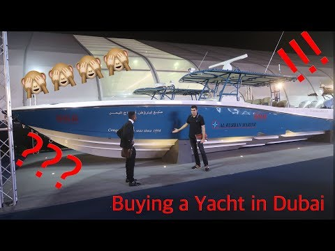 BUYING A YACHT AT THE DUBAI INTERNATIONAL BOAT SHOW 2018