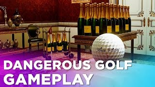 15 Minutes of DANGEROUS GOLF Gameplay —from the Creators of Burnout