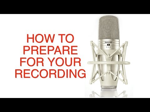 Music Business Tips | How To Prepare For Your Recording | Making A Record!