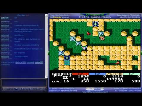 Netplay Session - Gauntlet II (NES) - Vizzed.com Play