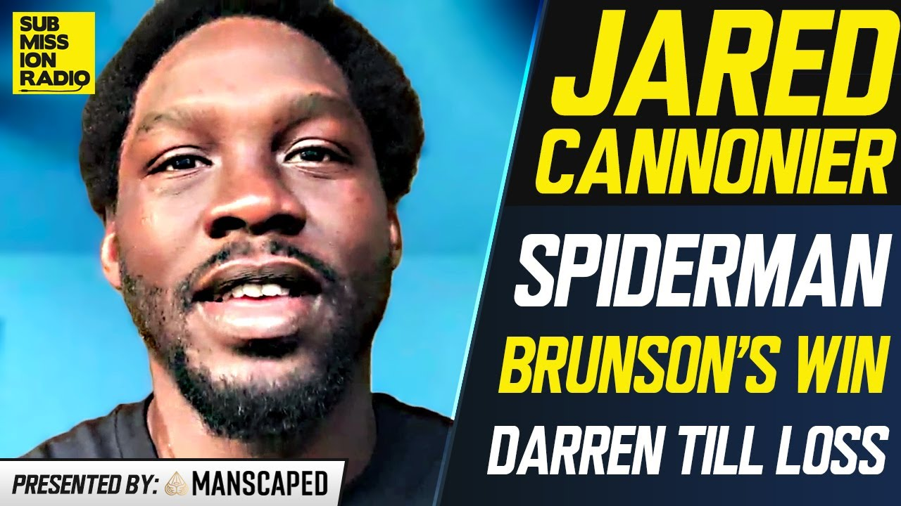 Jared Cannonier: Derek Brunson Isn't In a Position to Wait For a Title Shot; Wants New UFC Contract