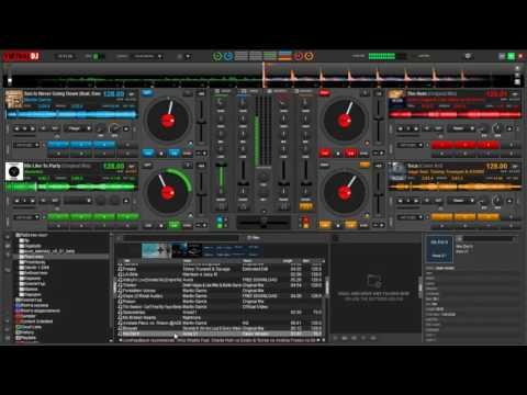 Virtual DJ8 EDM Mix