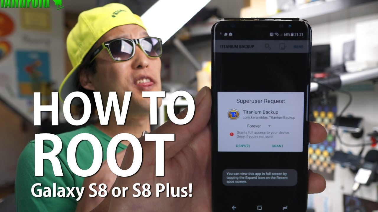 How to Root Galaxy S8 or S8 Plus! [Exynos]