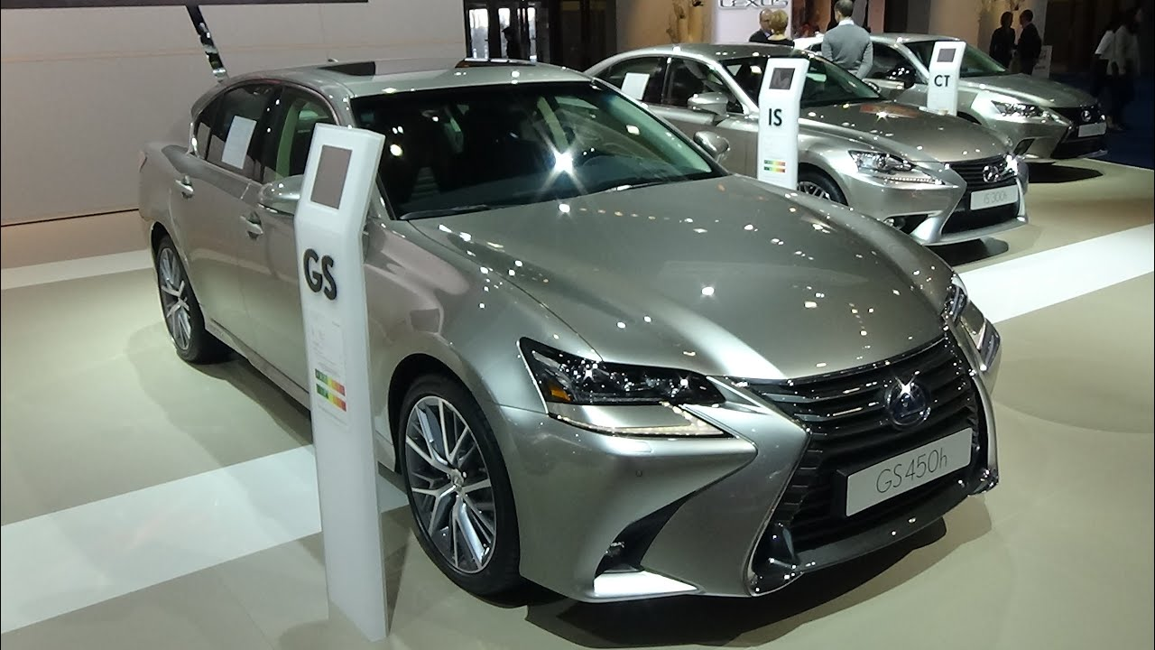 2016 lexus gs 450h exterior and interior auto show. Black Bedroom Furniture Sets. Home Design Ideas