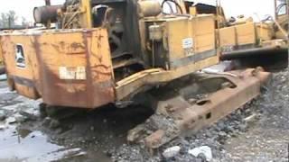Build your own john deere 790 Excavator-parts not included