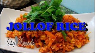 How to make Vegetables Jollof Rice Recipe