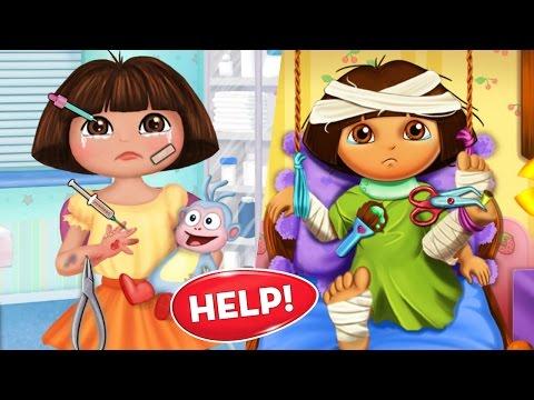 Dora Hospital Recovery - Baby Dora Hand Doctor - juegos de la dora