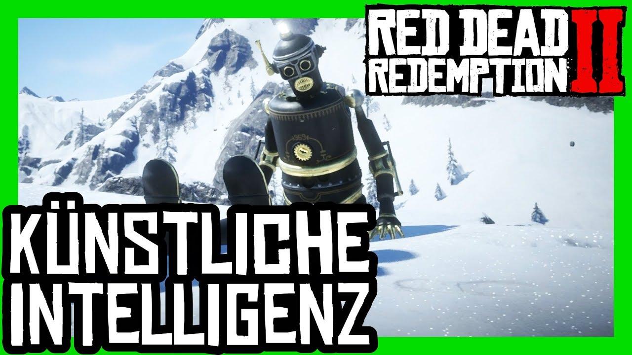 Red Dead Redemption 2 Erfolg / Trophäe Künstliche Intelligenz - Der Roboter lebt!?