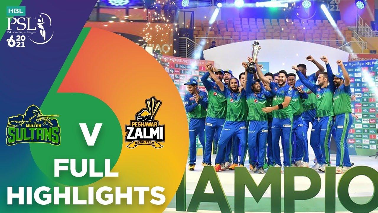 Download Full Highlights   Multan Sultans vs Peshawar Zalmi   Final Match 34   HBL PSL 6   MG2T