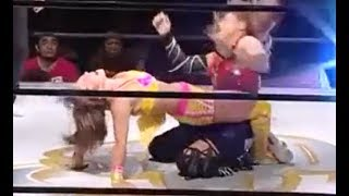 Japanese women's wrestler Yuzuki Aikawa' s prepared battle★ 愛川ゆず季 動画 16