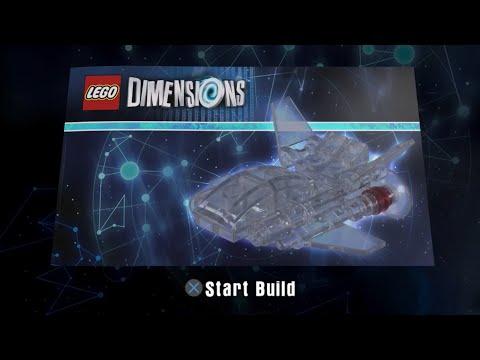 Wonder Woman's Invisible Jet Build Instructions - Lego Dimensions - DC Comics