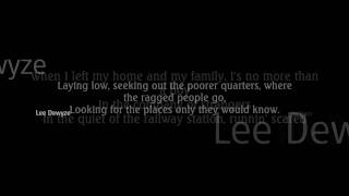 Lee Dewyze- The Boxer (lyrics)