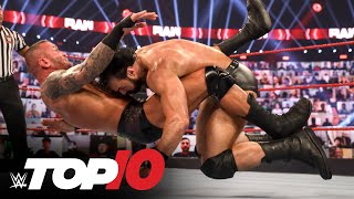 Top 10 Raw moments: WWE Top 10, Nov. 16, 2020