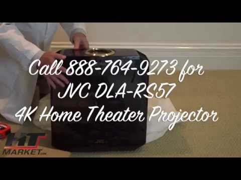 JVC Home Theater Projector Unbox Video DLA- RS57