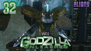 "Part 32 ""Story: Megalon (Aliens)"" - Godzilla: Unleashed [Wii]"