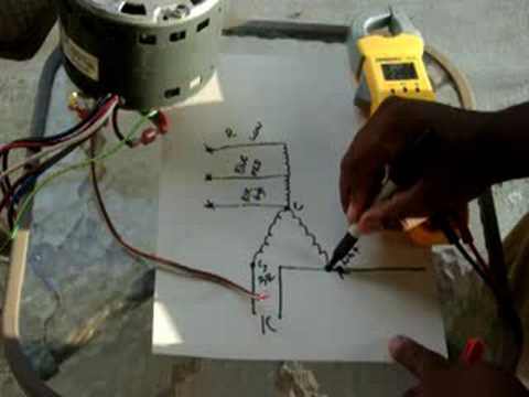 hqdefault how to bench check a central a c blower motor youtube GE Motor Model 5KCP39MG at webbmarketing.co