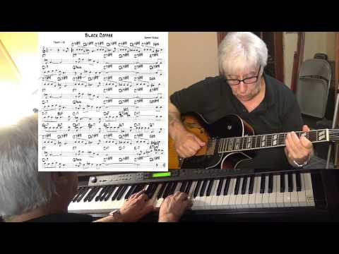 Black Coffee - guitar & piano jazz cover ( Sonny Burke ) Yvan Jacques