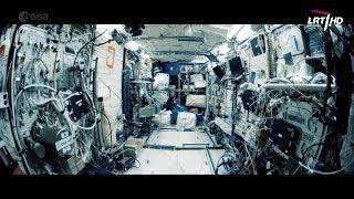 Mokslo sriuba: tyrimai Tarptautinėje kosminėje stotyje