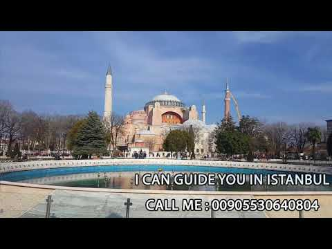 best view in Istanbul Sultan Ahmet Mosque (blue Mosque) with Guider