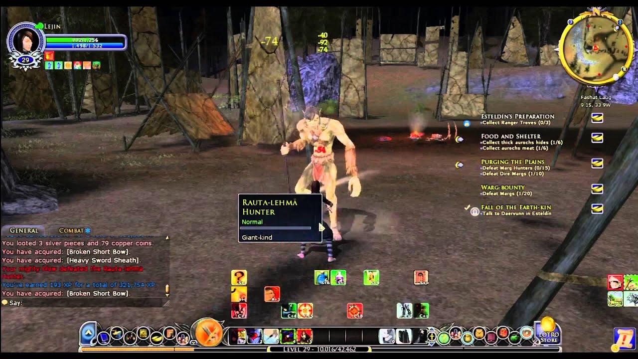 Burglar Gameplay 2014 [Lord Of The Rings Online