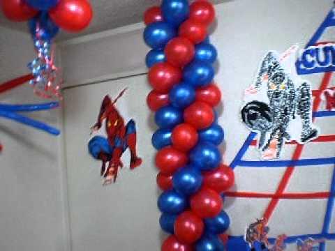 Decoracion hombre ara a youtube for Cuartos decorados hombre arana