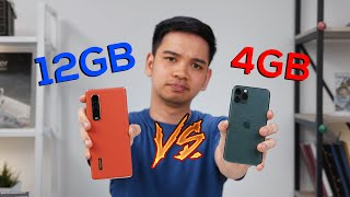 Tes kecepatan iPhone 11 Pro Vs OPPO Find X2 Pro!