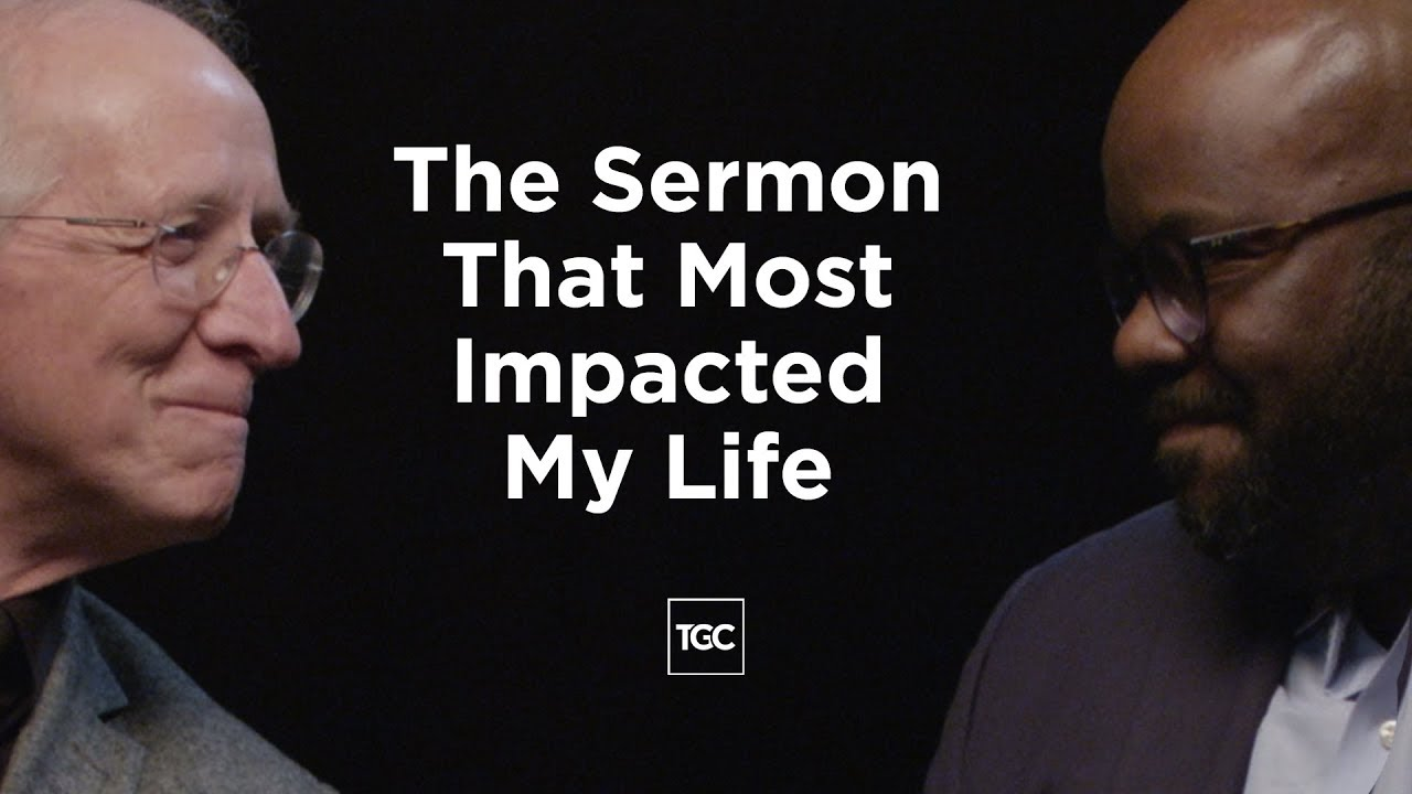 What Sermons Changed John Piper's and H  B  Charles's Lives?