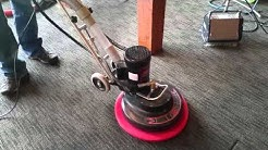 Rotovac 360 XL new drive block and red pad Saiger's Steam Clean, Grand Rapids, MN
